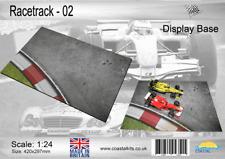 Coastal Kits 1:24 Scale Race Track 2 Display Base