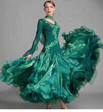 2017 NEW Ballroom Competition Dance Dress Modern Waltz Tango Standard Dress 7001
