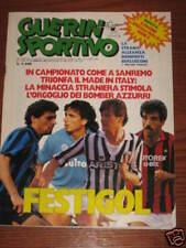 GUERIN SPORTIVO 1987/7 POSTER EMPOLI SPECIALE SERIE C BRASILE LOBANOSKI