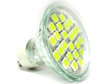 Lampada LED GU10 4W 24 SMD 5050 220V Bianco Freddo Basso Consumo