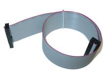 Flachbandkabel 34 pol Pfostenstecker Buchse zu Buchse IDC 10 cm - 100cm