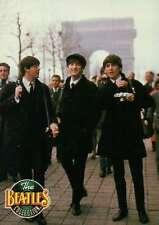 Paul, John, & George Walking With Camera in Paris, France - Beatles Trading Card