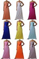 women ladies beach summer bandeau strapless maxi dress medium to xxx large (8-24