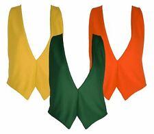 The Dragons Den S/M Backless Elasticated Autumn Waistcoat Fancy Dress