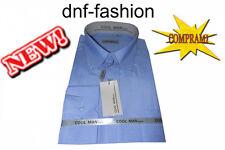 Camicia classica uomo Cool Man manica lunga collo Button down art 205