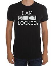 BBC Sherlock I AM SHERLOCKED T-Shirt NWT Licensed & Official