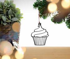 Cupcake Christmas Decoration, Hanging Decoration, Tree Decoration