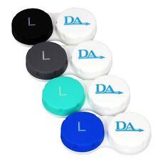 Contact Lens Case x 4 ~ Storage Set for Soft Lenses Travel Cases Colour Options