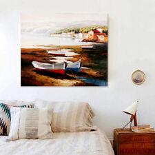 3D Beach Boat Painting 532 Wall Stickers Vinyl Wall Murals Print AJ WALLPAPER CA