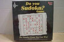 Do You Sudoku? Game University Games #01512 NIB 2005!