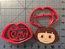 Cartoon Character 123 Cookie Cutter Set