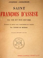 SAINT FRANCOIS D'ASSISE 1181/82-1226 Frères mineurs