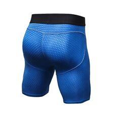 Mens Workout Compression Short Pants Running Gym Sports Compression Shorts