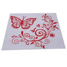 Auto Pull Flower Stickers Rear Windshield Butterfly Flower Car Stickers G