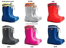 Kids Boys Girls Wellington Boots Rain Snow Boots EVA Lightweight Wellies UK 5-2