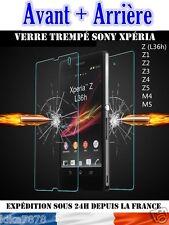 Pellicola Protettiva Anteriore/Posteriore Vetro Temperato Sony Xperia Z1/Z2/Z3/