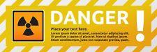 Personalizzato CUSTOM Avvertenza cautela Pericolo Segno autoadesivo adesivo