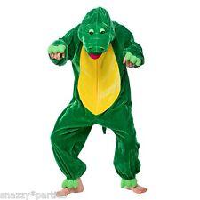 KIDS CROCODILE ZOO ALLIGATOR WILD ANIMAL FANCY DRESS COSTUME ONESIE BOOK WEEK