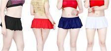 Mini Vestido Falda para Mujer Damas Falda Niñas rara Micro Mini Falda Stretch 6-20