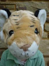 NEW Wild Republic 89672 Plush Safari Tiger Hoodie Hat Cap - One Size -Dress Ups