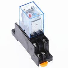 MY2NJ Miniature Relay DPDT 8 Pins 10A HH52P JQX-13F With PYF08A Socket