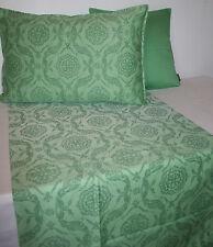 Tischdecke 150x150 Tischläufer 50/150 Fino jade grün Verlauf Ornamente Proflax