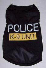 "Dog shirt tank ""POLICE K-9 UNIT"" Small Medium Large"
