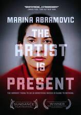 Marina Abramovic: The Artist Is Present (DVD, 2012)