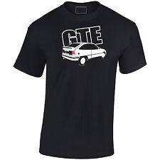 Vauxhall Astra inspirado MK2 GTE Mens t-shirt regalo para papá, tío, abuelo Etc