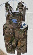 Kentucky WILDCATS Toddler Camo Overalls 2T 3T 4T NWT Hunting Camoflague Denim