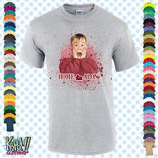 Solo En Casa Navidad Para Hombre Camiseta Navidad Santa Secreto Regalo Divertido película S-5XL Top 1