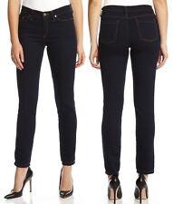Karen Kane Laguna Soft Stretch Dark Blue Denim Skinny Jeans, 6R  -   $99