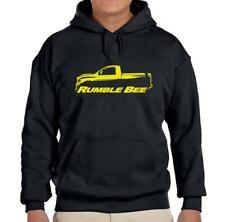 Dodge Rumble Bee Ram Truck Black Hoodie Sweatshirt FREE SHIP