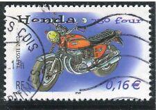 TIMBRE FRANCE OBLITERE N° 3508 MOTO / HONDA  / Photo non contractuelle
