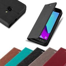 Handy Hülle für Samsung Galaxy XCover 4 Cover Case Tasche Etui mit Kartenfach
