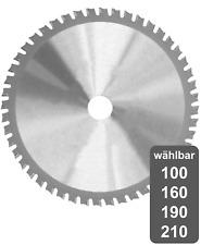 Kreissägeblatt für Metall Sägeblatt Sägen von Stahl Baustahl Aluminium Blech uvm