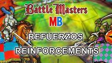 Multi-Anuncio Refuerzos de Battle Masters de MB / BattleMasters Reinforcements