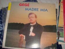 LP GEGE' MADRE MIA VOL. 3 EDIZ. MUSICALI BAGUTTI