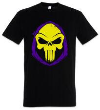 PUNISHOR T-SHIRT Skull Punisher Skeletor MOTU Castigador Comic