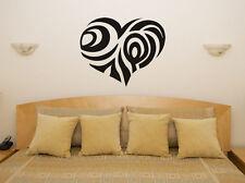 Design cœur chambre salle à manger dîner décalcomanie autocollant Art mur image