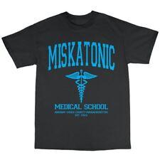 Miskatonic Medical School T-Shirt 100% Cotton University The Dunwich Horror
