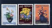 MONACO - 1973 - yvert 948/950 - Fleurs - neufs**
