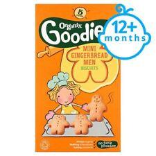 Organix Goodies Mini Gingerbread Men 5 x 25g