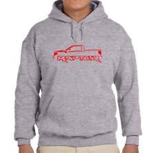 2010-14 Ford SVT Raptor F150 Truck Grey Hoodie Sweatshirt FREE SHIP