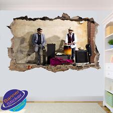 I musicisti Music Group Attrezzature Ufficio Camera Vivaio Adesivi Murali ARTE Murales VC0