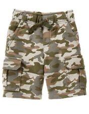 NWT Gymboree Boy shorts Pull on Shorts Jungle Tour Cargo Camo many sizes