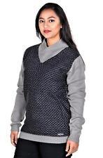 RWB Womens Long Sleeve Shawl Collar Sweater Pullover Gary