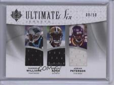 2009 Upper Deck Ultimate Collection #6J-27 Reggie Bush Adrian Peterson Card