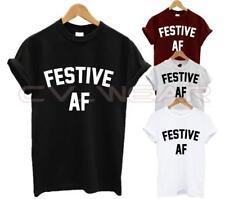 Camiseta Feliz Navidad festiva af Presente Regalo De Navidad Vacaciones Moda Swag Dope