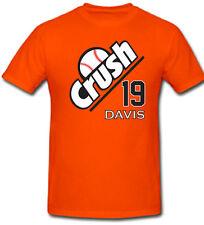 "Chris Davis Baltimore Orioles ""CRUSH""  jersey T-shirt  S-5XL"